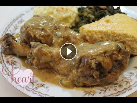 Smothered turkey wings legs or thighs recipe i heart recipes soul food style recipe for smothered turkey wings legs or thighs perfect for thanksgiving or any occasion that may call for some good old fashioned forumfinder Image collections