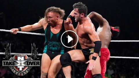 Punches and kicks fly in wild Triple Threat Match: TakeOver: Toronto
