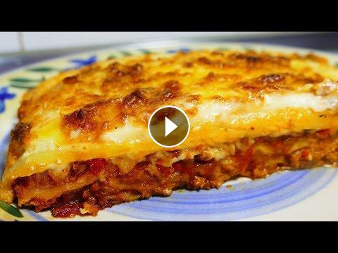Easy Lasagna Recipe With Bechamel Sauce Tasty Food Recipes