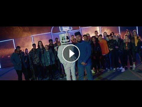 Marshmello - Silence Ft  Khalid (Official Music Video)
