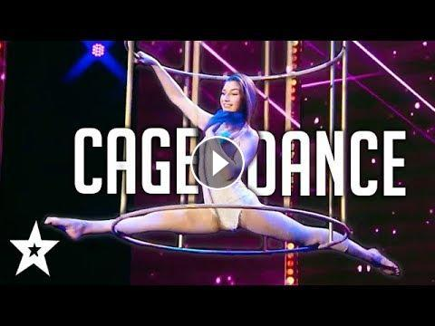 Cage Dancer Amazes Judges on Germany's Got Talent | Got