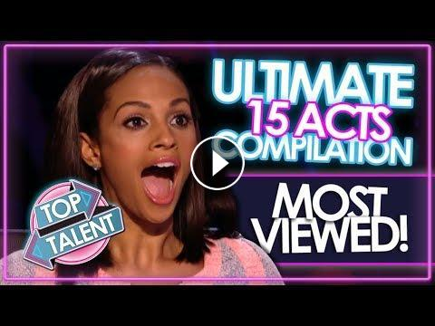 The ULTIMATE Most Viewed Britain's Got Talent & X Factor UK