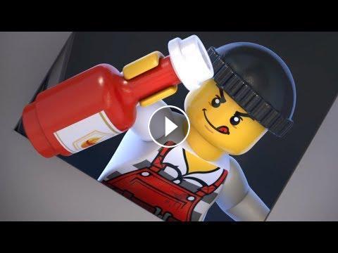 Cartoons Animation Movies For Kids Lego City
