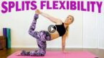 splits flexibility with krystin ♥ yoga workout for