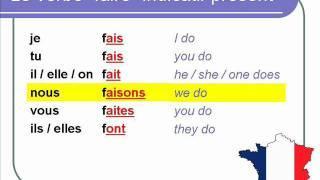 French Lesson 44- Present tense THIRD GROUP -IR -OIR -RE verbs ...