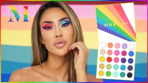 MORPHE x JACLYN HILL - THE VAULT PALETTE | IS IT WORTH THE WAIT?!