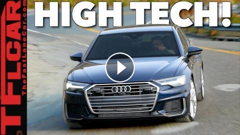 2019 Audi A6 And A7 Review Should The Bmw 5 Series And Mercedes E