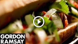 Vietnamese-Style Baguette With Beef - Gordon Ramsay