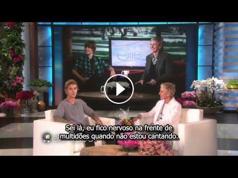 The Ellen DeGeneres Show: Justin Bieber Surpreende Ellen Em