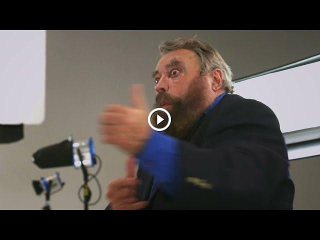 Brian Blessed's gun sound effects - Brian Cox: Space, Time