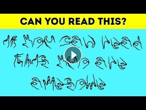 ONLY UNIQUE BRAINS WILL SOLVE THESE TRICKY RIDDLES!