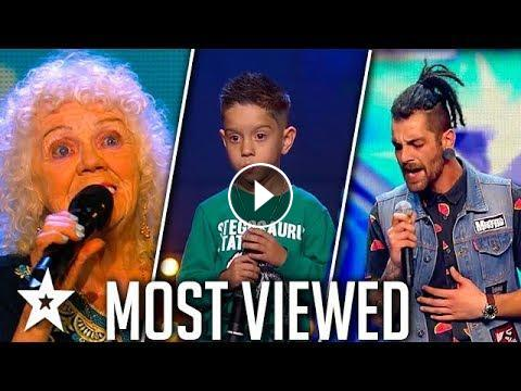 TOP MOST VIEWED Singers Around The World 2018 | Got Talent