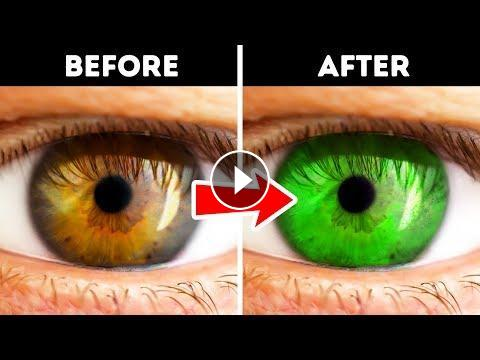 20 Optical Illusions And One Cool Trick That Ll Change Your Eye Color