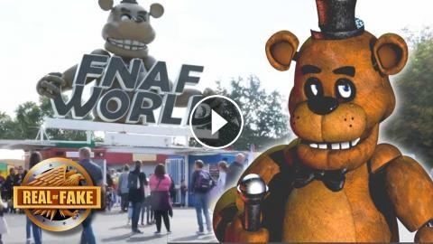 FNAF WORLD THEME PARK - real or fake?